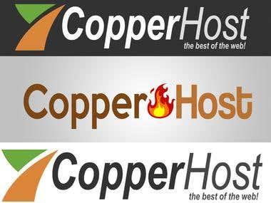 Proposed logo for CopperHost.com