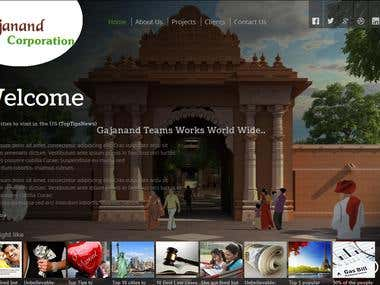 HTML 5 and JQuery website