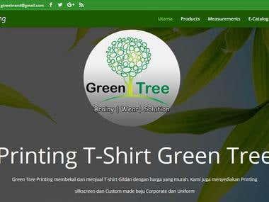 Green Tree Printing - Website