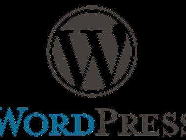 Web Delopment, Wordpress