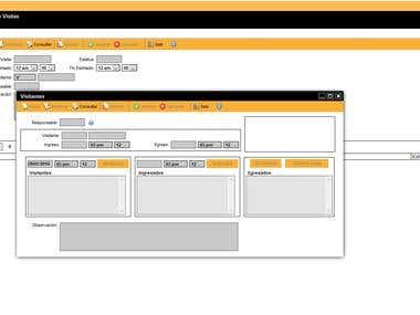 Visiting System (Java) - Sistemas de Gestión nde Visitas