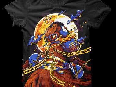 T-Shirt Design / Clothing