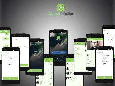 Wanna Practice - Chat/Social App