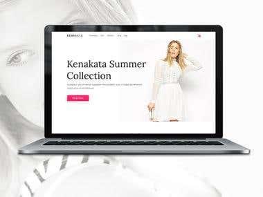 Kenakata - eCommerce Bootstrap Template