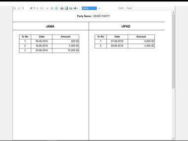 Invoice and Salary slip Printing system