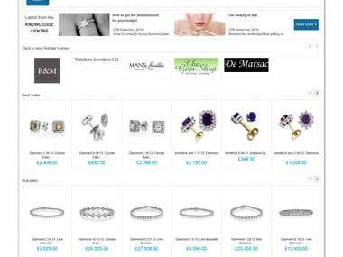 Diamond Store on Magento