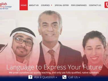 Expressenglish- English Institute Courses Booking Website