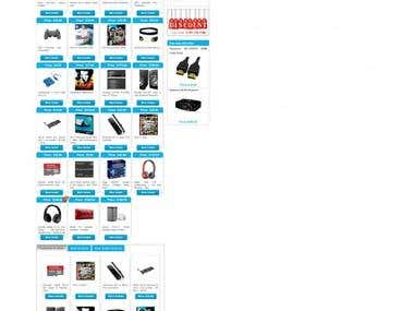 Online Electrical store in WooCommerce