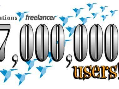 Banner design for Freelancer.com contest.
