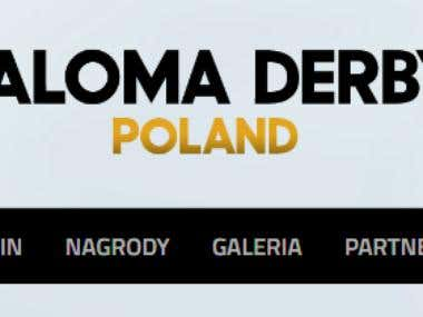 Paloma Derby Poland - website