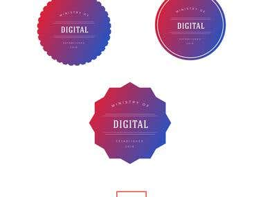 Logo Design for MInisty of Digital