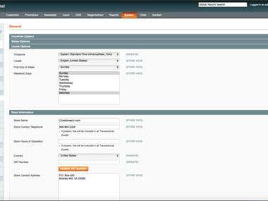 Magento Customized Admin