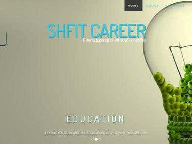 Shift Career Website
