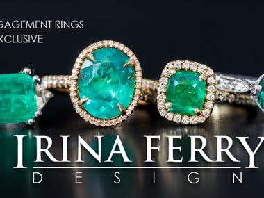BANNER FOR JEWELERY COMPANY