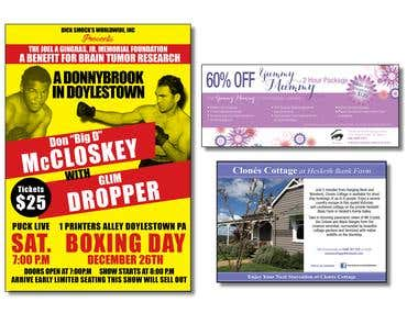 Posters and Flyers