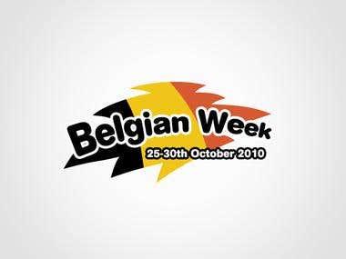Belgian Week event logo