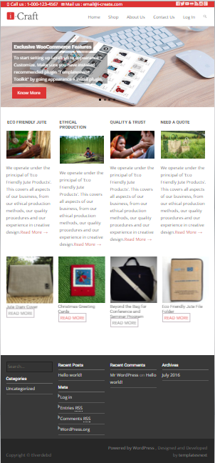 WooCommerce web-site