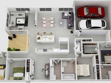 3D Floor Paln