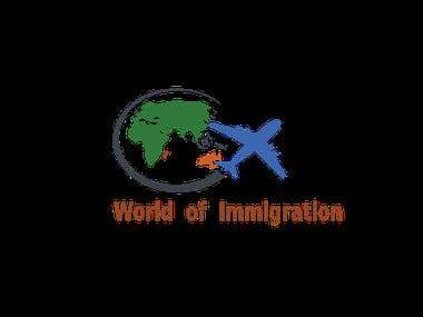 Logo design for immigration website