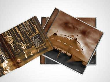 CD cover and album designs