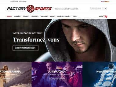 Factory Sport Website
