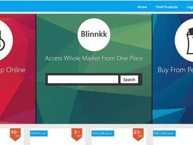Blinnkk (Online Shopping Store)