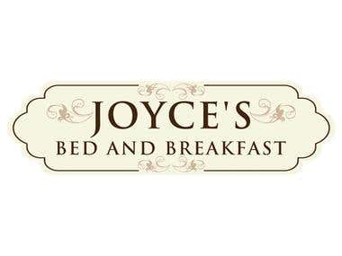 Joyce's Bed and Breakfast Logo Design - Masta Software
