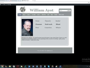 william ayot poetry website