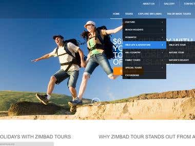 Tours Project ( Zimbad Tours )