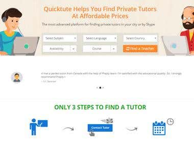 Online Exam, Tutorial, and Skype lesson tutorial booking