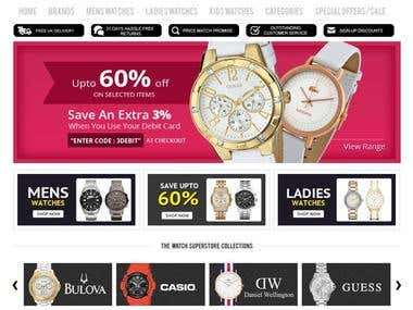 Online Watch Shop