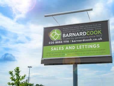 Barnard Cook poster design