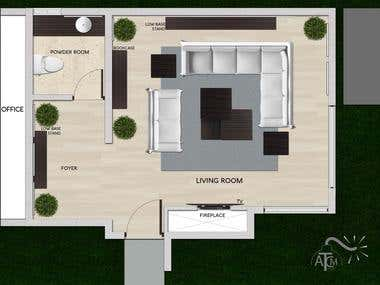 Interior Design - Living Room