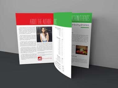 KGN nutrition booklet design