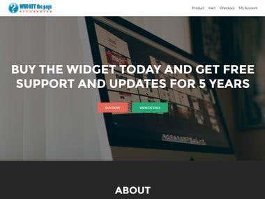 eCommerce website using WordPress and WooCommerce