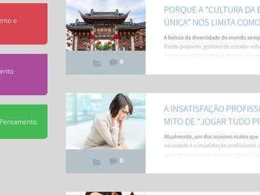 Constante Mente (Personal website)