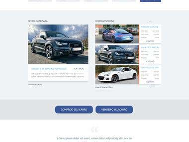 Car Dealer website for volanty.com