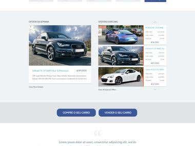 Car Dealer website for volanty.com