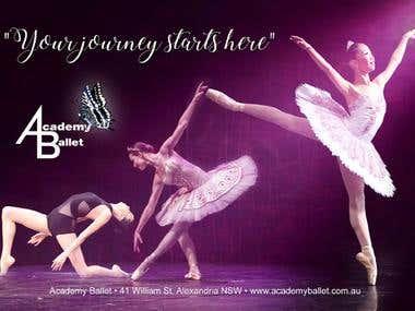 Ballet School Flyer
