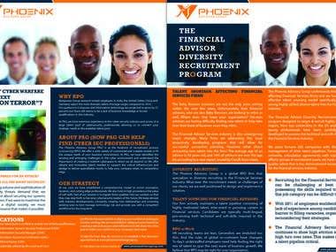 PhoEnix - Brochure Design