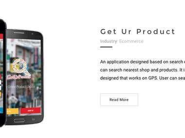 Get ur Product App