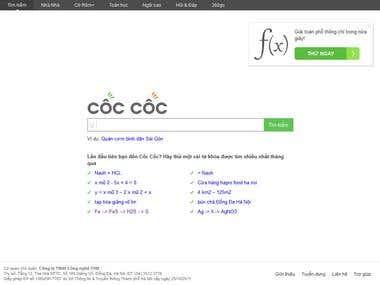 Cốc Cốc Search Engine