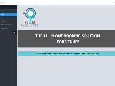 The All-In-One Booking Solution for Venues