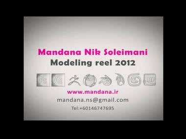 my modeling reel 2012