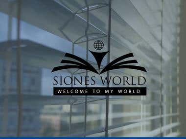 Logo For Siones World