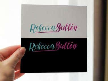 Logo signature for Rebeca Bullon