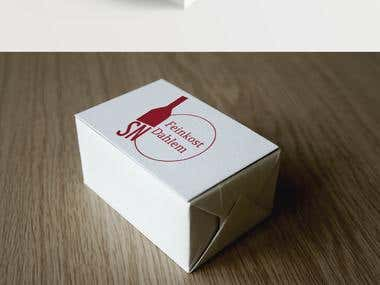 Retail store logo and business cards