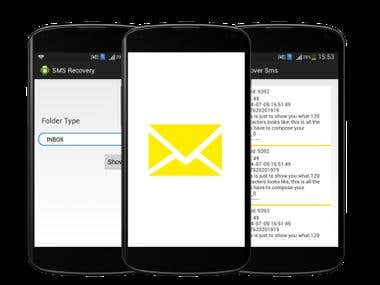 SMS Recovery