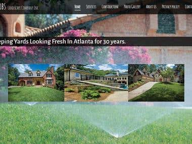 Landscape Company website