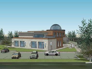 ISLAMIC Religious school design - 2016